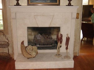 limestone-fireplace